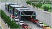 China presenta el bus del futuro